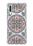 Suhctup Funda Compatible con Samsung Galaxy A8 2018 Carcasa Transparente,Dibujo Diseño Flor...