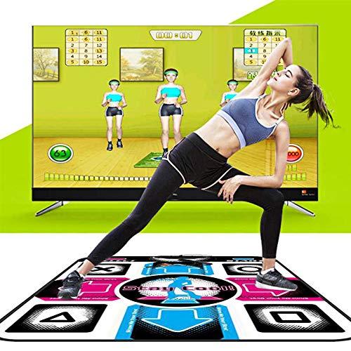 WENBING Manta de Danza, Dance Pad para Niños, Adultos Antideslizante Durable, Resistente al Desgaste, Step Pad, Juego de Música, Manta de Baile con USB para PC, Regalo para Niño