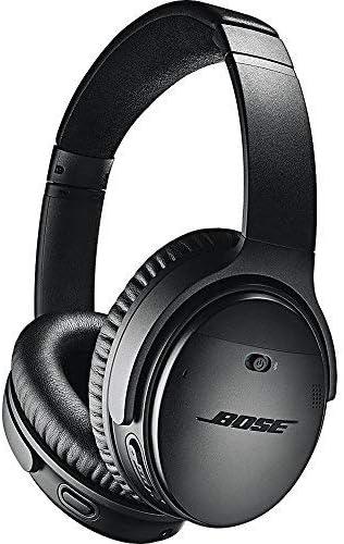 Bose QuietComfort 35 (Series II) Wireless Bluetooth Headphones, Noise Cancelling, Black