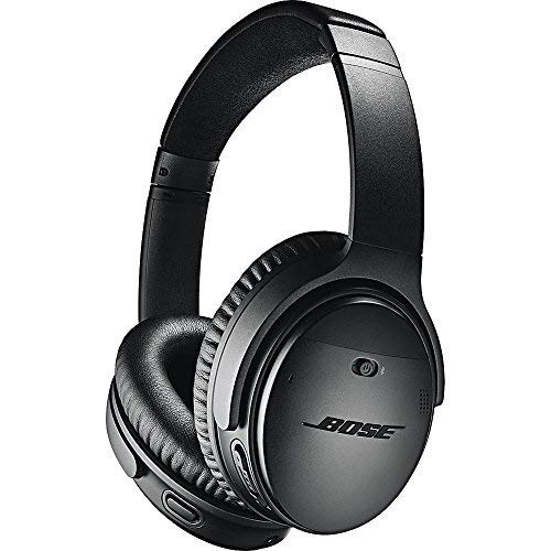 Bose QuietComfort 35 II Wireless Bluetooth Headphones, Noise-Cancelling, with Alexa voice...