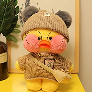 Korean World New I Duck Plush Toy Cute Animal Yellow Duck Soft Hair Doll Toy Christmas Birthday Gift Children Girl Decoration Must Have Baby Items My Favourite 4T Superhero One Collection