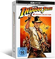 Indiana Jones – 4-Movie Collection - limited Edition (4K UHD) [Blu-ray]