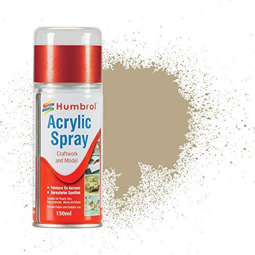 Humbrol AD6237 - Vernice spray acrilica, opaca, colore: Marrone chiaro
