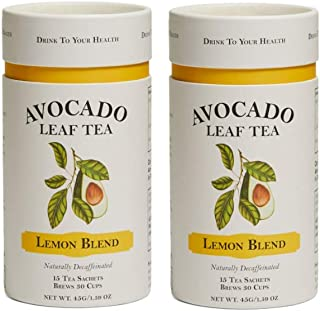 Avocado Leaf Tea – Lemon Tea Multi Pack – Decaffeinated Herbal Tea – Cold Brew or Hot Tea - 100% All Natura...