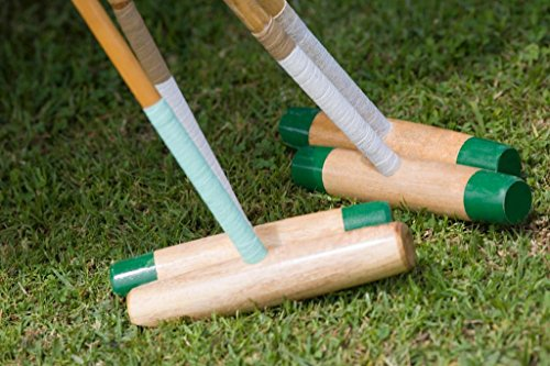Close Up of Four Polo Mallets Photo Photograph Laminated Dry Erase Sign Poster 36x24