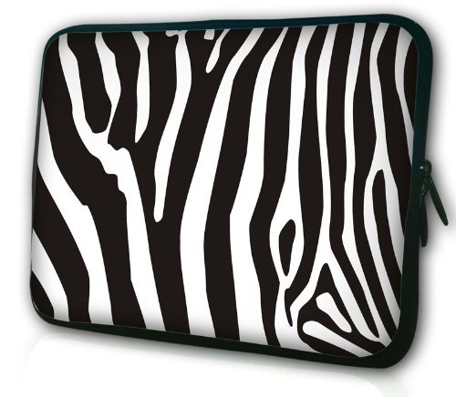 14.6 Inch Laptop Bag Sleeve Case Briefcase for Lenovo Thinkpad T410 ACER ASPIRE V5 Dell Latitude E6420 HP EliteBook 6930P HP ProBook 14 inch And Most 14 inch 14.1 inch 14.4 Inch Laptop-zebra