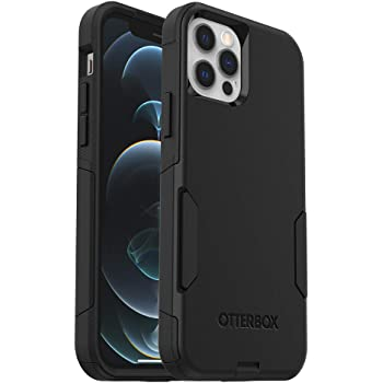 OtterBox Commuter Series Case for iPhone 12 & iPhone 12 Pro - Black (77-65905)