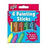Galt Juguetes, 6 palos de pintura, palos de pintura para niños, edades de 3 años más