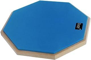Fenteer 12インチ ダムドラム サイレント 練習パッド マット ドラム訓練 ドラミングサイレンサー 全4色 - 青