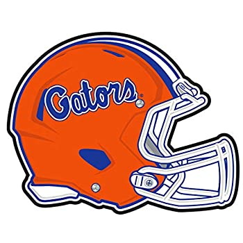 Craftique Florida Gators Decal  REF Gators Helmet Decal  4   4 in