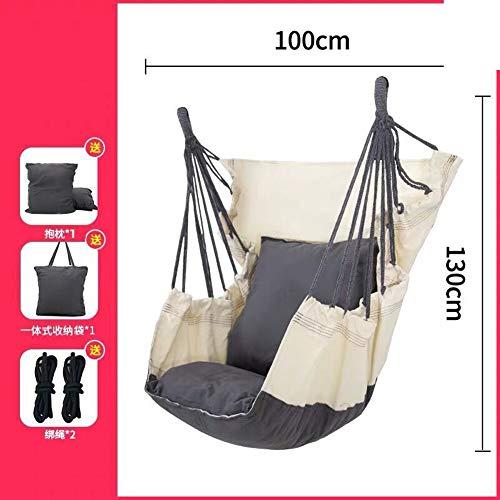 Studentenflat hangmat swing stoel hanging basket indoor lui wieg outdoor hangmat buitenzwembad voor volwassenen netto bed