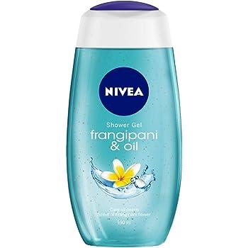 NIVEA Shower Gel, Frangipani & Oil Body Wash, Women, 250ml