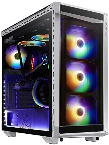 ADATA XPG Battlecruiser Super Mid-Tower ATX Gaming-behuizing, wit