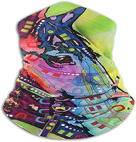 Unisex Neon Rainbow Art Horse Winter Neck Warmer Gaiters Haarband Cold Weather Tube Face Mask Thermal Neck Scarf Outdoor UV-bescherming Party Cover