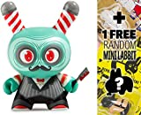 Dunny Argh Barber: ~3' Kidrobot 'The Odd Ones x Scott Tolleson Vinyl Figure + 1 Free Official Labbit Mini-Figure Bundle