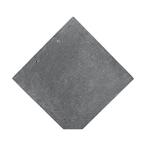 BMD - Naturschiefer 25 x 25 Wabe 5 m² (160 Stück) spanischer Markenschiefer Schiefer Natur Schieferplatten