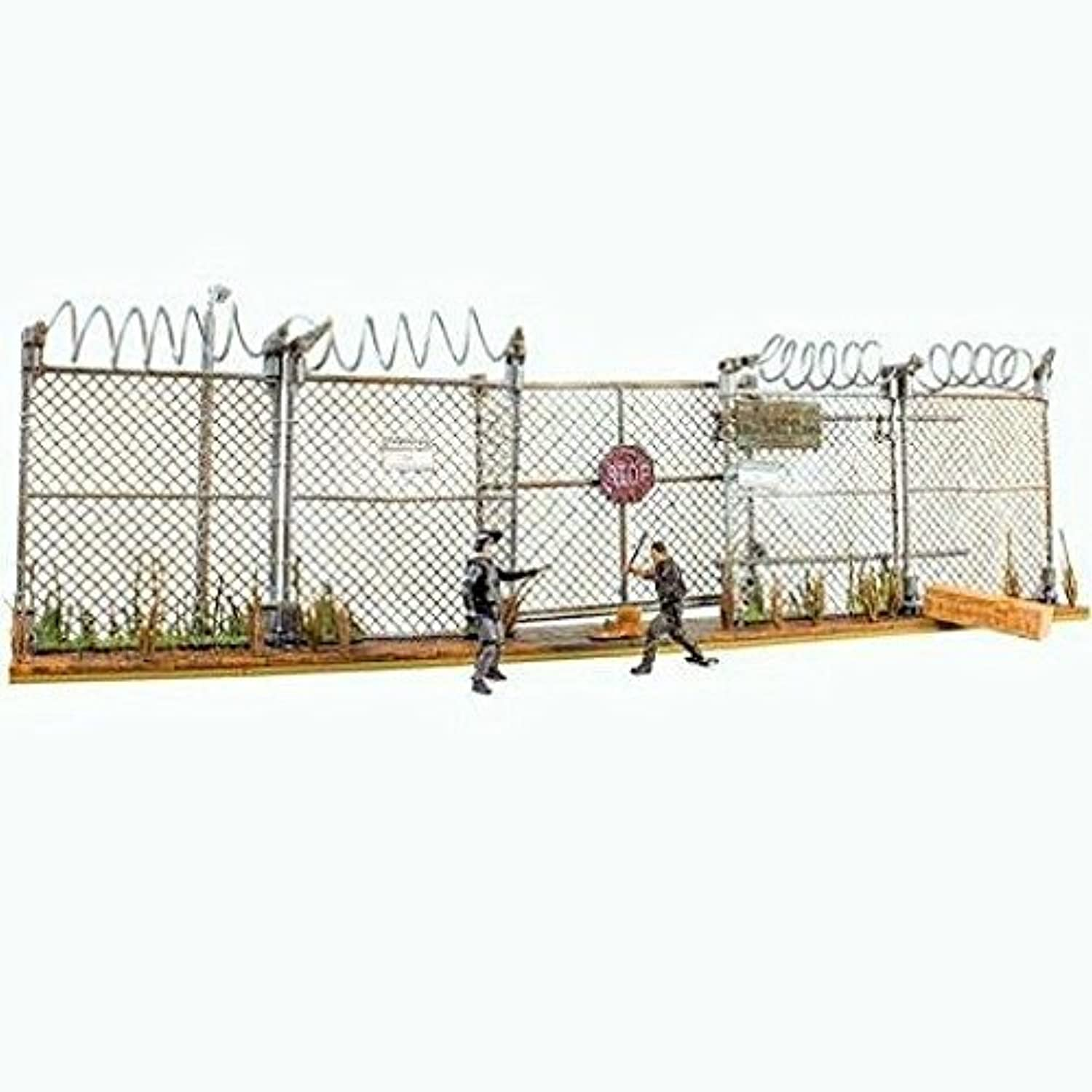 McFarlane Toys The Walking Dead AMC TV Series Prison Gate & Fence Building Set  14556 by Unknown