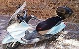 Funda Cubre Asiento Scooter o Moto Aprilia Arrecife (Ref Xmax)