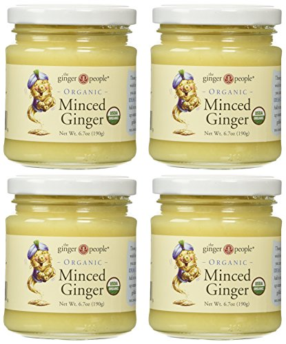 Ginger People Ginger Minced Org, 6.7oz (Pack of 4)