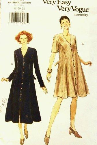 Vogue Pattern 9227 Maternity Dress