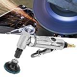 【𝐒𝐞𝐦𝐚𝐧𝐚 𝐒𝐚𝐧𝐭𝐚】 Máquina Amoladora neumática, Grado Industrial 90 Grados de Plegado Amoladora neumática con Disco de Pulido MBSP de 2 Pulgadas, tamaño de Mandril Ajustable 3.18~6.35 mm