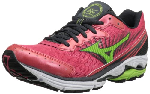 Mizuno Women's Wave Rider 16 Running Shoe,Rouge Red/Apple...