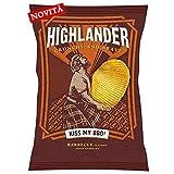 Patatine sancarlo highlander bbq gustose pezzi 20 gr 70 (082530)