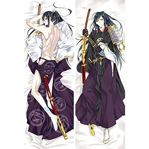 """Touken Ranbu Taroutachi Anime Dakimakura Pillow Cover Bedding Pillowcases 16""""x47"""" #Y554"""