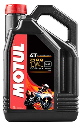 Motul 7100 Synthetic Oil 4T - 10W40 - 4 Liter/--
