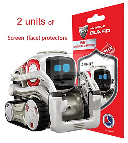 IPG for Cozmo Robot Face Screen Guard. Excellent Protector from Unexpected Attacks of Kids and Pets. Best Protection Against Scratches