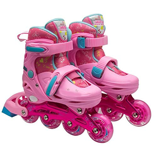 Purchase YUMEIGE Roller Skates Girl's Roller Skate ,with Flash Wheel、Protective Gear、Outdoor ...