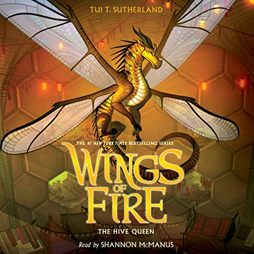 The Hive Queen audiobook cover art