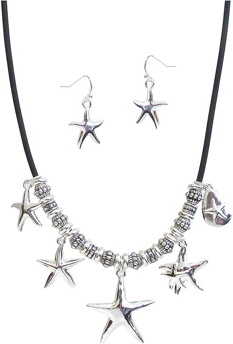 Fashion Cheap mail order sales Jewelry Louisville-Jefferson County Mall ~ Sealife Theme Pendant Charm Cor Starfish Multi