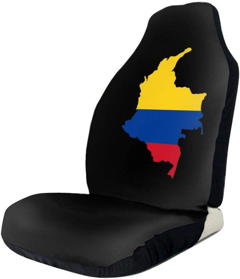 POI78 Colombia Map Flag Cheap bargain Fascinating Minneapolis Mall Auto Sign Seat Fashion Cov