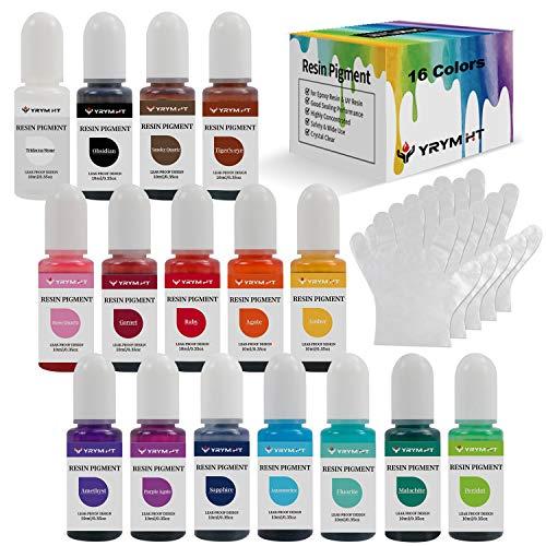 Epoxy Resin Pigment - 16 Colors Tra…