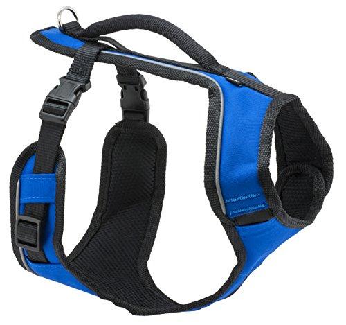 PetSafe EasySport Harness, Medium, Blue, Adjustable, Control, Padded for...