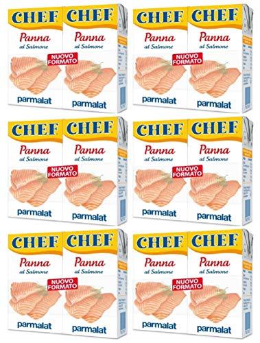 Parmalat Panna Chef al Salmone (6 x 2 x 125ml)