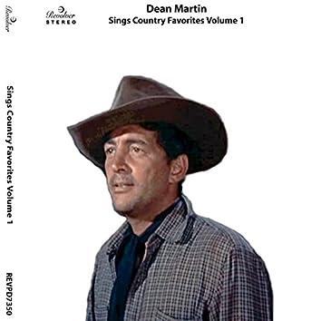 Sings Country Favorites, Vol. 1