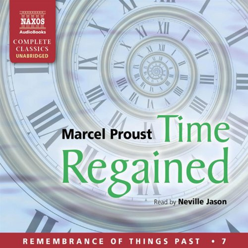 Couverture de Time Regained