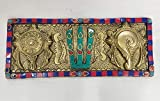 Rajasthan Emporium and Handicrafts Brass Colour Stone Wall Hanging