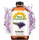 Best Lavender Essential Oils - Lavender Essential Oil (Huge 4oz Bottle) Bulk Lavender Review