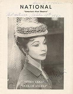 Vivien Leigh - Program Signed Circa 1960