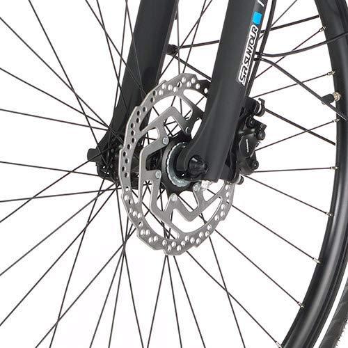 FISCHER Herren – E-Bike Trekking VIATOR 5.0i (2019), grau matt, 28″, RH 50 cm, Brose Mittelmotor 50 Nm, 36V Akku Bild 6*
