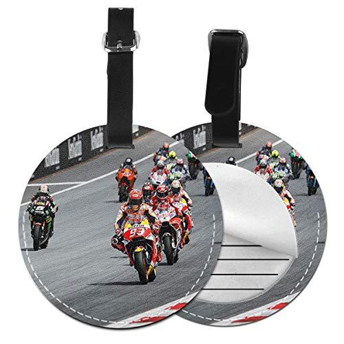 Etiquetas para Equipaje Bolso ID Tag Viaje Bolso De La Maleta Identifier Las Etiquetas Maletas Viaje Luggage ID Tag para Maletas Equipaje Moto GP Super Bikes Motocicleta