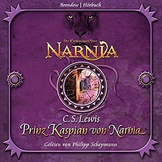 Prinz Kaspian von Narnia audiobook cover art