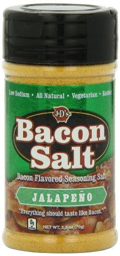 J&D's Jalapeno Bacon Salt, 2.5 Ounce Bottle
