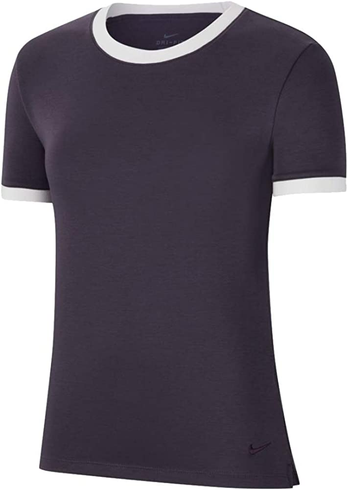 Nike Finally popular brand Women's Drifit Uv Sleeve 2021new shipping free Top Ringer Short