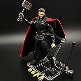 SHF Marvel Avengers: Thor Thoring Hache Et Marteau Modèle De Caractère