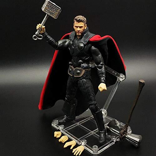 Action Figure SHF Marvel Avengers: Endgame Thor Thoring Axe E Hammer Character Model 16CM