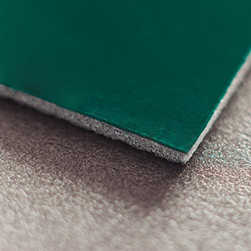 Noico Green 170 mil 18 sqft Car Waterproof Sound Insulation, Heat and Cool Liner, Self-Adhesive Closed Cell PE Foam Deadening Material (1/6 Thick Sound Deadener)
